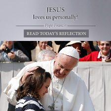 Read the daily quote from Pope Francis